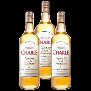 3 Bouteilles liqueur Charle